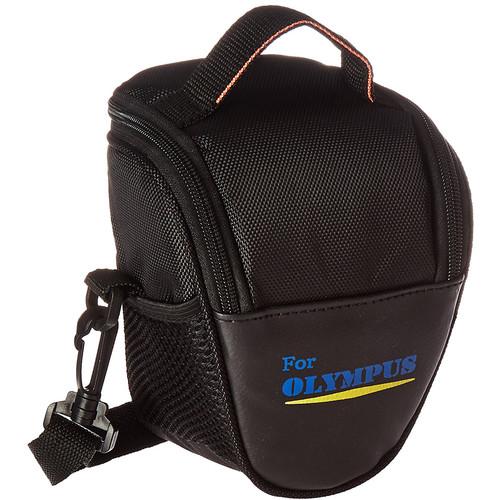 MegaGear Ultra Light Nylon Camera Case Bag for Select Olympus Cameras