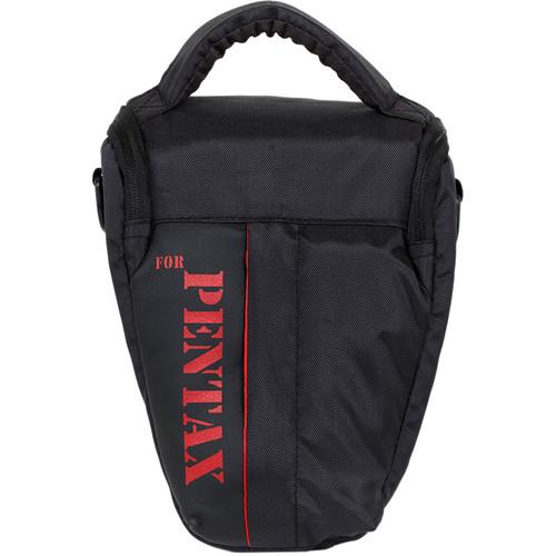 MegaGear Ultra Light Professional Camera Case Bag for Pentax Cameras with Lens (Black)