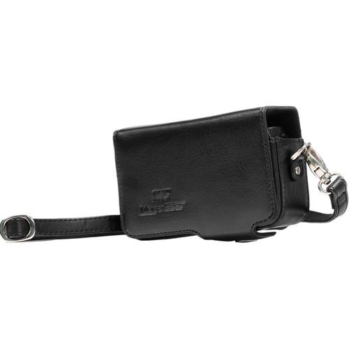 MegaGear Leather Case with Belt Loop for Sony DSC-RX100M II, Sony DSC-RX100M III, RX100 IV Camera (Black)