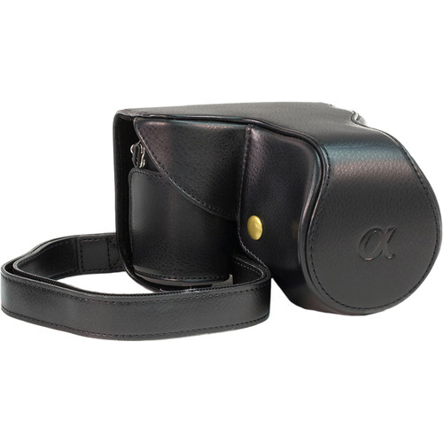 MegaGear Ever Ready Case for NEX-7 with 18-55/20/14mm Lens (Black)