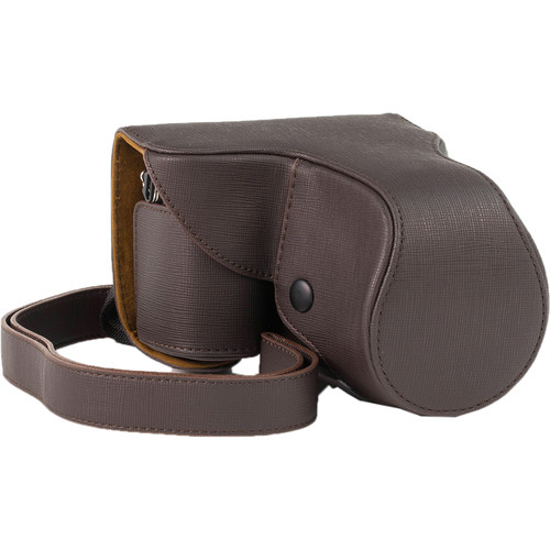 MegaGear Ever Ready Case for NEX-7 with 18-55/20/14mm Lens (Dark Brown)