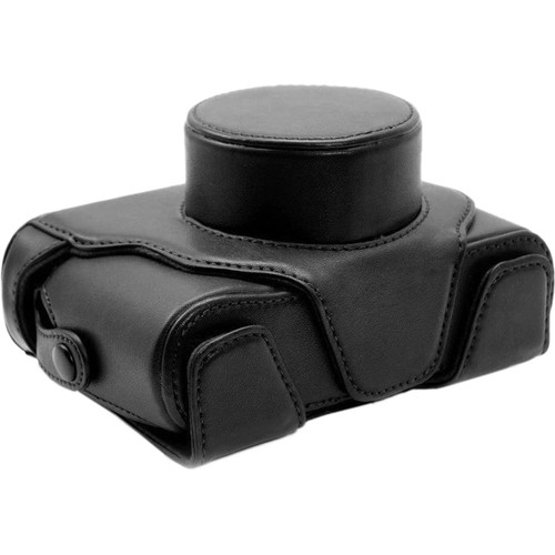 MegaGear Ever Ready Protective Black Leather Camera Case, Bag for Fujifilm X100S 16 Mp Digital Camera