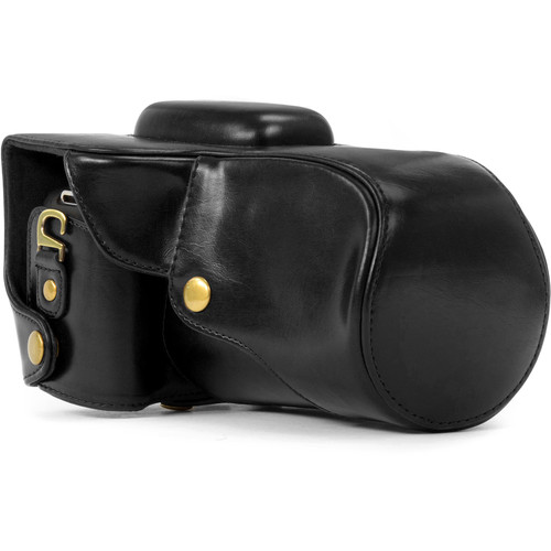 MegaGear MG345 Ever Ready Protective Camera Case for Select Canon Cameras (Black)