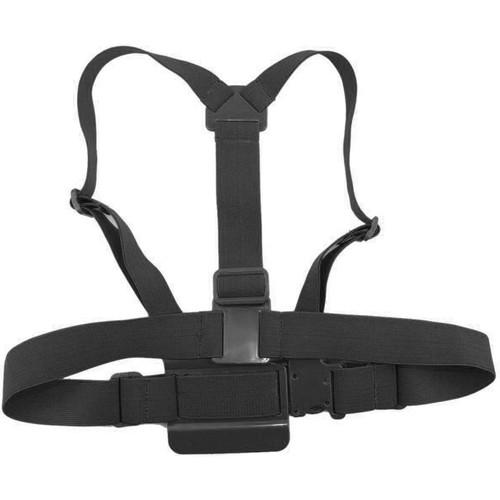 MegaGear Adjustable Chest Body Harness Belt Strap Mount for Select GoPro Cameras (Black)