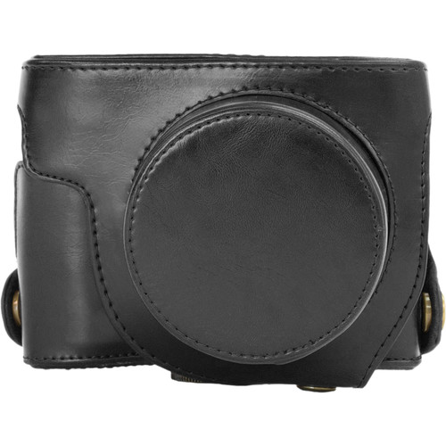 MegaGear Ever Ready Leather Camera Case for Canon PowerShot G1X Mark II