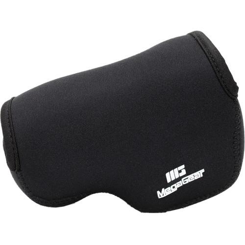 MegaGear Ultra-Light Neoprene Camera Case for Nikon V3 with 10-30mm Lens (Black)