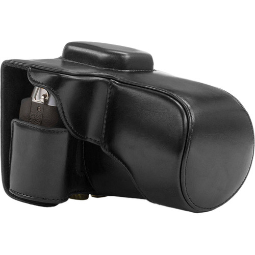 MegaGear Ever Ready Camera Case for Fujifilm X-T1 with 18-55mm Lens (Black)