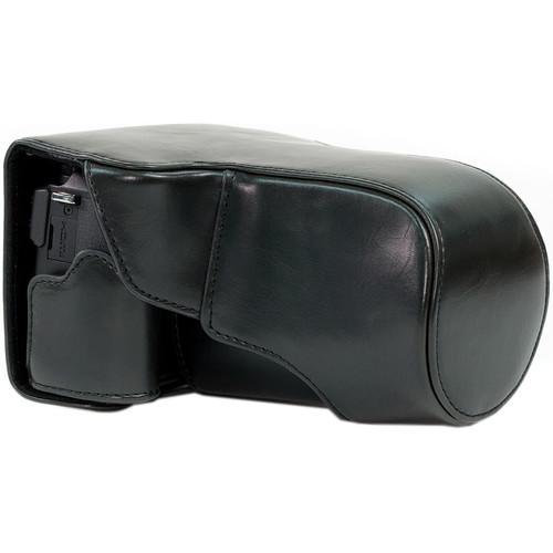 MegaGear Ever Ready Protective Case for Canon EOS M3, 18-55/55-200 (Black)