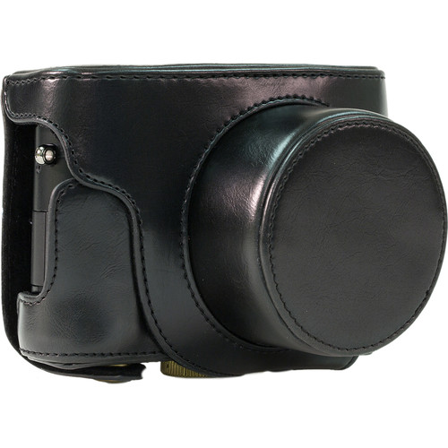 MegaGear Ever Ready Leather Camera Case for Leica D-Lux (Typ 109) (Black)