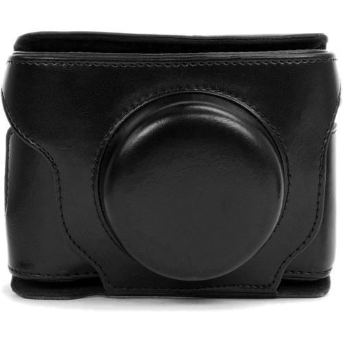 MegaGear Ever Ready Leather Camera Case for Fujifilm X30 (Black)