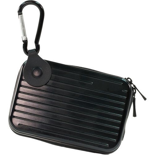 MegaGear Ultra Light Aluminum Case for Olympus TG-4 & Sony DSC-RX100 IV Cameras (Black)