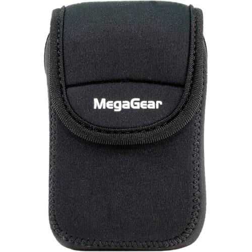 MegaGear Ultralight Neoprene Camera Case for Sony Cyber-shot DSC-WX500 (Black)