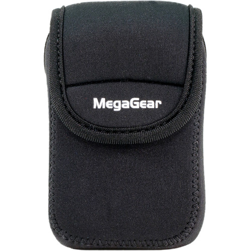 MegaGear Ultra-Light Neoprene Camera Case for Sony Cyber-shot DSC-WX500 (Black)