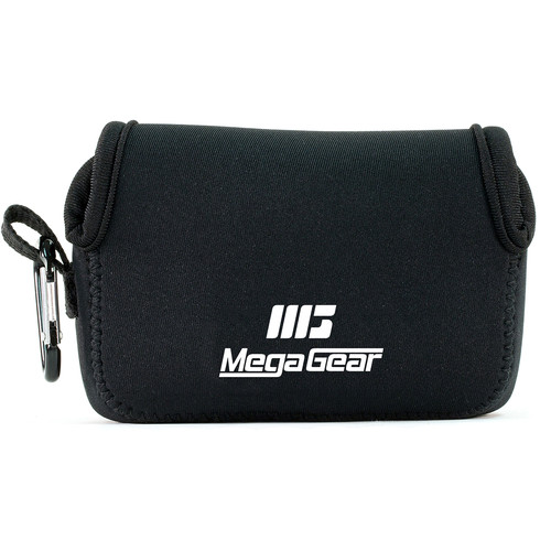 MegaGear Ultralight Neoprene Camera Case for Sony Cyber-shot DSC-HX90V and DSC-HX80B (Black)