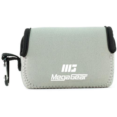 MegaGear Ultralight Neoprene Camera Case for Sony Cyber-shot DSC-HX90V and DSC-HX80B (Gray)