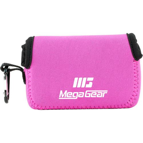 MegaGear Ultra-Light Neoprene Camera Case for Sony Cyber-shot DSC-HX90V and DSC-HX80B (Hot Pink)
