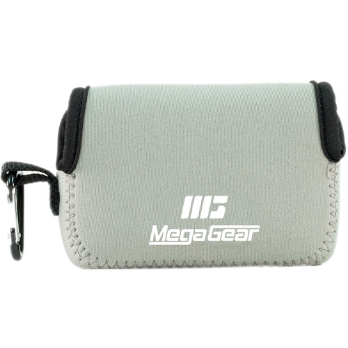 MegaGear Ultra-Light Neoprene Camera Case for Canon SX720 HS, Canon PowerShot SX610 HS, and SX600 HS (Gray)