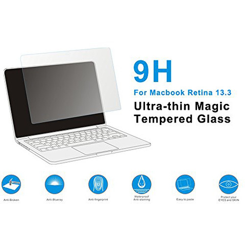 """MegaGear Ultra-Thin Tempered Glass Screen Protector for 13"""" MacBook Air"""