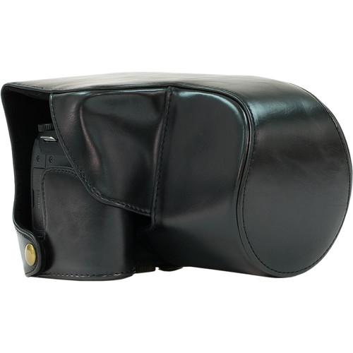 MegaGear Ever Ready Leather Camera Case for Panasonic LUMIX DMC-FZ300