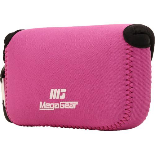 MegaGear Ultra-Light Neoprene Camera Case for Canon PowerShot G5X (Hot Pink)