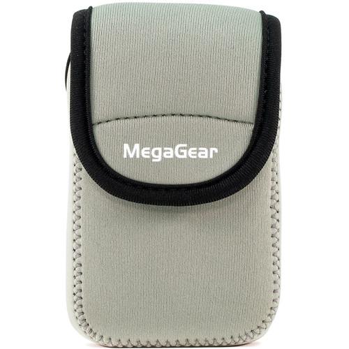 MegaGear Ultra-Light Neoprene Camera Case for Panasonic ZS60 (Gray)