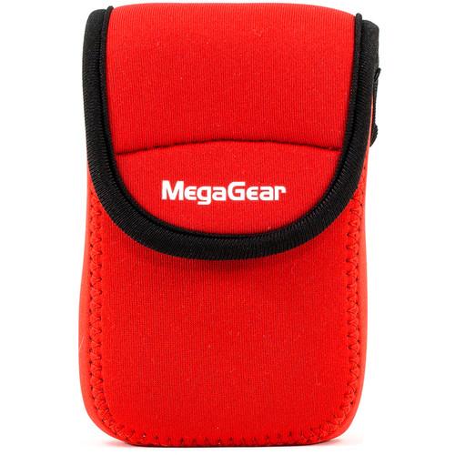 MegaGear Ultra-Light Neoprene Camera Case for Panasonic ZS60 (Red)