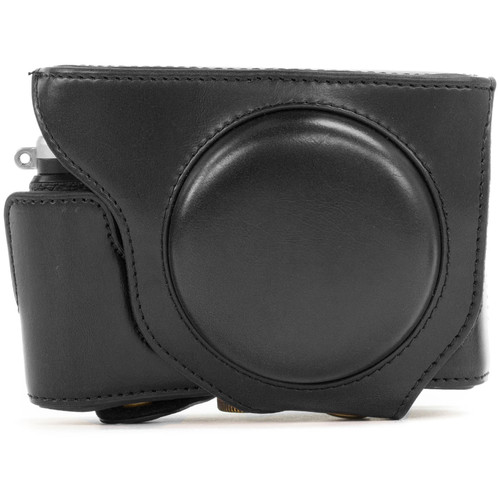 MegaGear Ever-Ready Protective Leather Camera Case for Fujifilm X70 Digital Camera (Black)