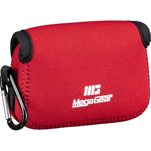MegaGear Ultra-Light Neoprene Camera Case for Nikon COOLPIX B500 (Red)
