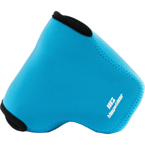 MegaGear Ultra-light Neoprene Camera Case with Carabiner for Sony Cyber-shot DSC-RX10 and DSC-RX10 II Cameras (Blue)