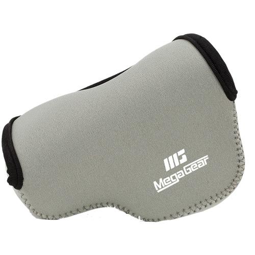 MegaGear Ultralight Neoprene Camera Case for LUMIX DMC-GX85K with 12-32mm (Gray)