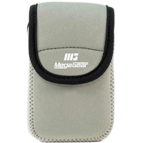 MegaGear Ultralight Neoprene Camera Case for Canon PowerShot ELPH 190 IS, ELPH 170 IS, and ELPH 160 (Gray)