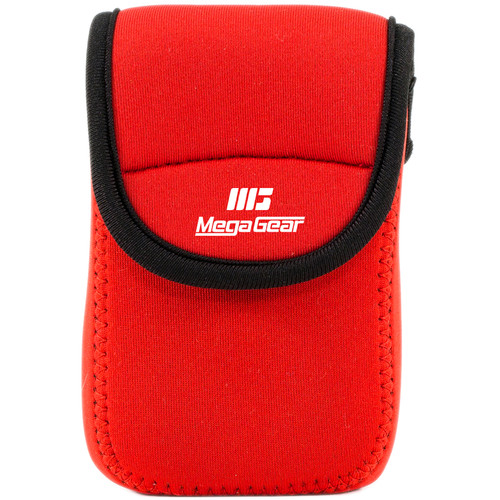 MegaGear Ultralight Neoprene Camera Case for Canon PowerShot ELPH 190 IS, ELPH 170 IS, and ELPH 160 (Red)