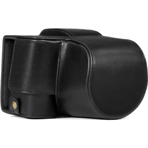 MegaGear Ever Ready Leather Camera Case for Sony Cyber-shot DSC-RX10 III (Black)