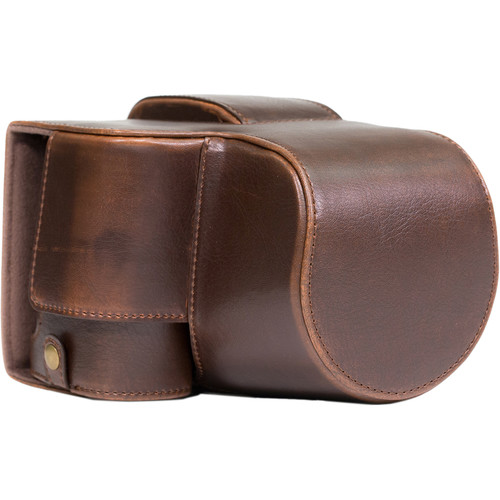 MegaGear Ever Ready Leather Camera Case for Sony Cyber-shot DSC-RX10 III (Dark Brown)