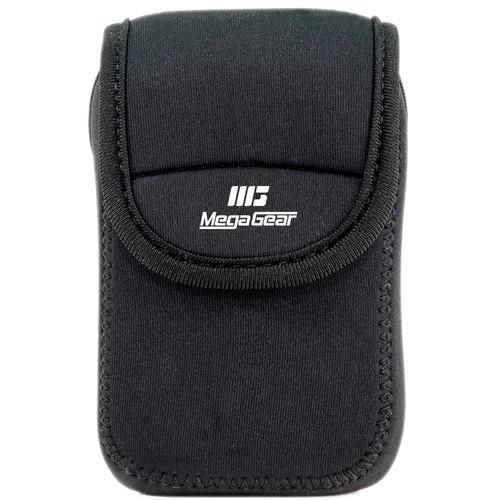 MegaGear Ultralight Neoprene Camera Case for Sony Cyber-Shot DSC-W800 (Black)