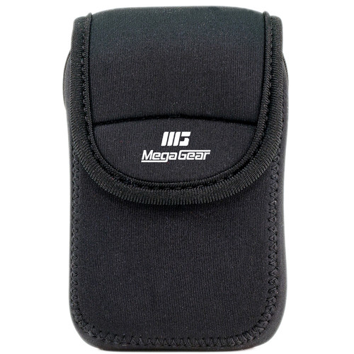 MegaGear Ultra-Light Neoprene Camera Case for Sony Cyber-Shot DSC-W800 (Black)