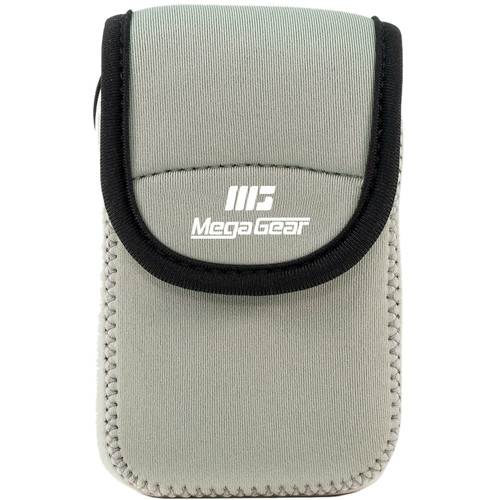 MegaGear Ultra-Light Neoprene Camera Case for Sony Cyber-Shot DSC-W800 (Gray)