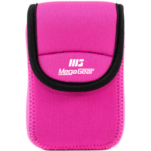 MegaGear Ultra-Light Neoprene Camera Case for Sony Cyber-Shot DSC-W800 (Hot Pink)