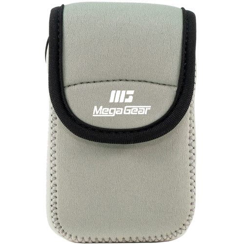 MegaGear Ultra-Light Neoprene Camera Case for Nikon COOLPIX S7000 and L32 (Gray)