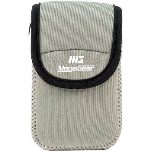 MegaGear Ultralight Neoprene Camera Case for Olympus Stylus Tough TG-870 and TG-860 (Gray)