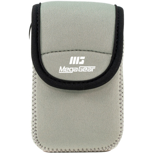 MegaGear Ultra-Light Neoprene Camera Case for Olympus Stylus Tough TG-870 and TG-860 (Gray)