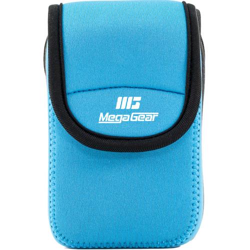 MegaGear Ultra-light Neoprene Camera Case with Carabiner for Kodak PixPro FZ43 and Kodak PixPro FZ41 Cameras (Blue)