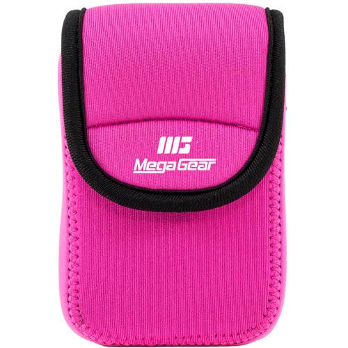MegaGear Ultralight Neoprene Camera Case for Kodak PixPro FZ43 and Kodak PixPro FZ41 (Hot Pink)