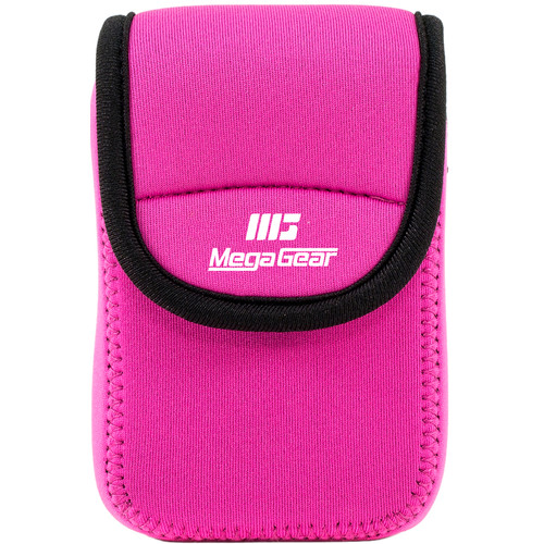 MegaGear Ultra-Light Neoprene Camera Case for Kodak PixPro FZ43 and Kodak PixPro FZ41 (Hot Pink)