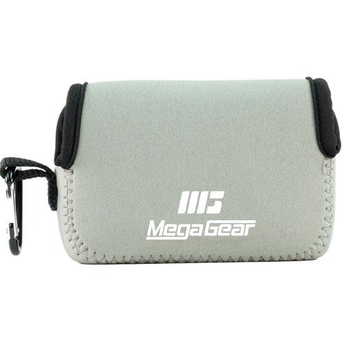 MegaGear Ultralight Neoprene Camera Case for Fujifilm FinePix XP90 (Gray)