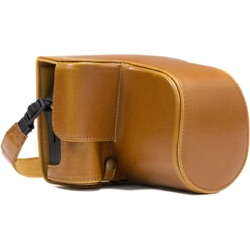 MegaGear Ever Ready Camera Case for Fujifilm X-T2 with 18-55mm Lens (Light Brown)