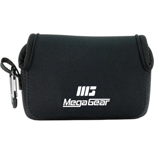 MegaGear Ultra-Light Neoprene Camera Case with Carabiner for Nikon COOLPIX A900 (Black)