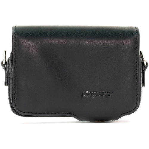 MegaGear Leather Case with Belt Loop for Select Sony Cyber-shot Cameras (Black)