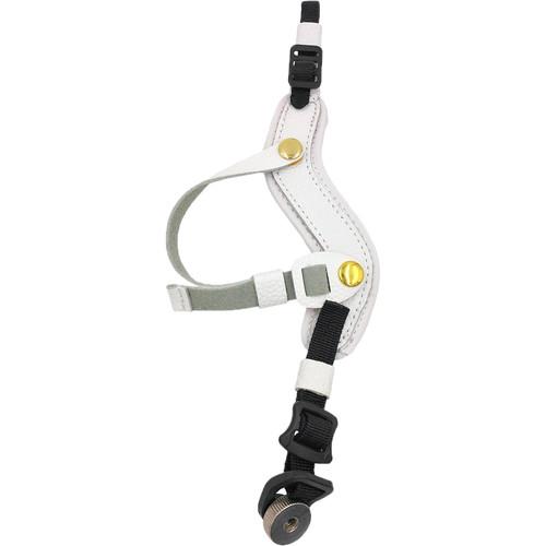 MegaGear Genuine Leather Wrist Strap (White)