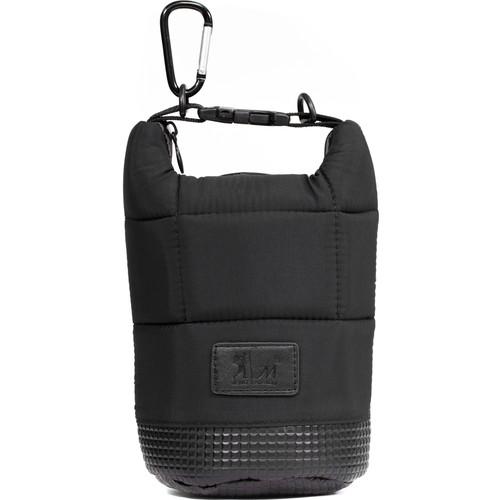 MegaGear Soft Lens Bag with Adjustable Handle for Medium-Sized Lenses (Black)